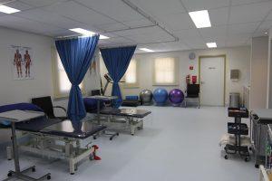 Physio gym area
